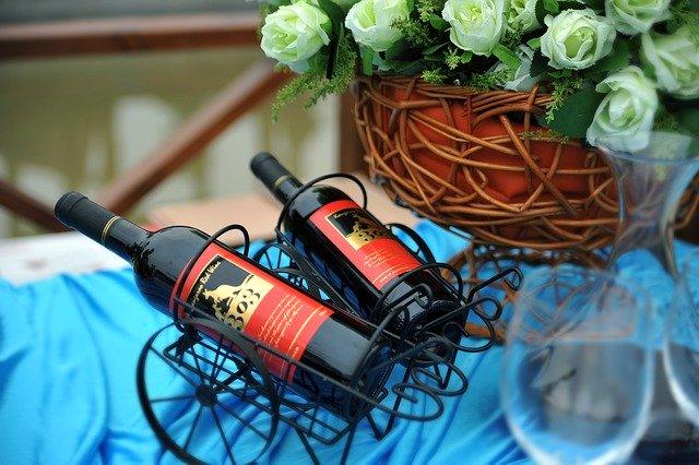 ピクニックのワイン